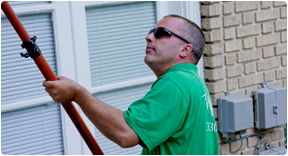 Commercial window cleaning professionals in the Greater Akron area